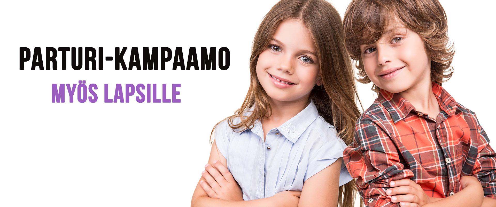Lasten hiusten leikkaukset - HiusStudio Minttu - Tampere